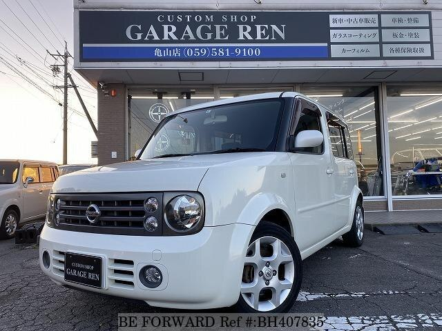 Used 2005 NISSAN CUBE CUBIC BH407835 for Sale