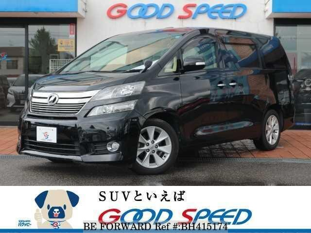 Used 2013 TOYOTA VELLFIRE BH415174 for Sale