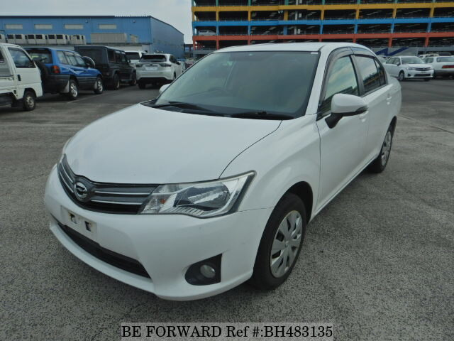 Used 2013 TOYOTA COROLLA AXIO BH483135 for Sale
