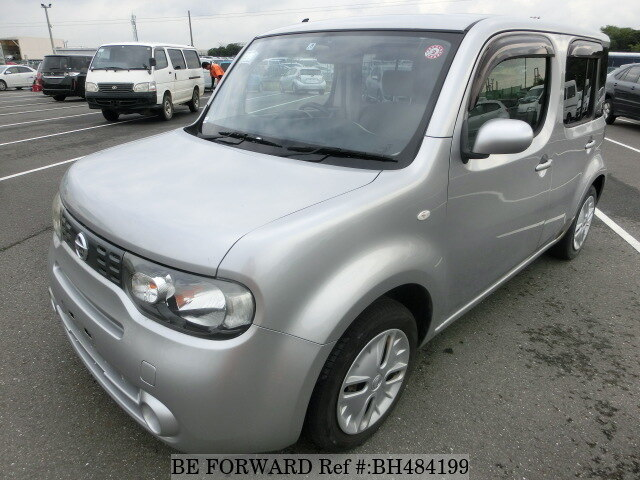 Used 2009 NISSAN CUBE BH484199 for Sale