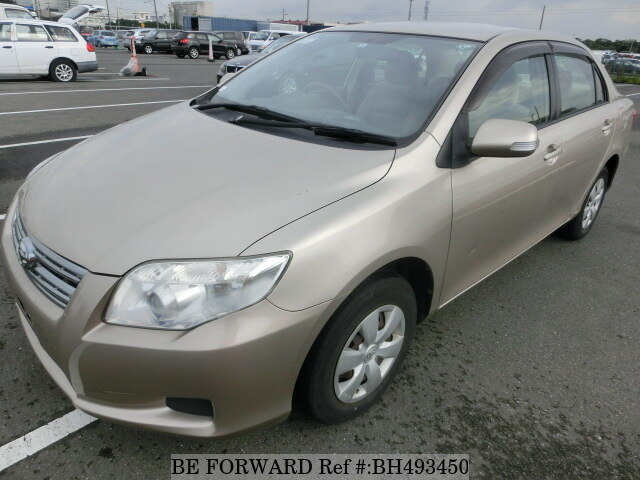 Used 2008 TOYOTA COROLLA AXIO BH493450 for Sale