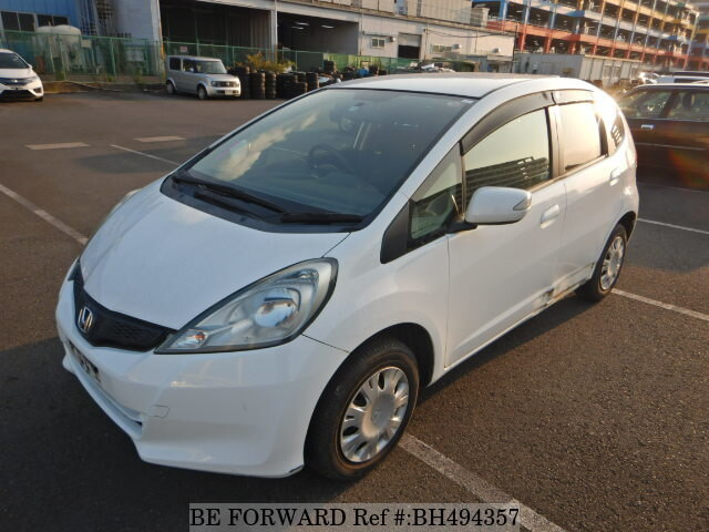 Used 2013 HONDA FIT BH494357 for Sale