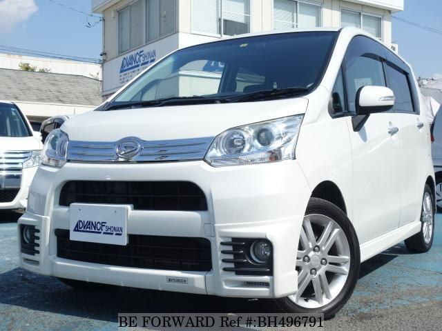 Used 2012 DAIHATSU MOVE BH496791 for Sale