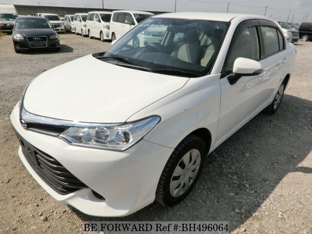 Used 2015 TOYOTA COROLLA AXIO BH496064 for Sale
