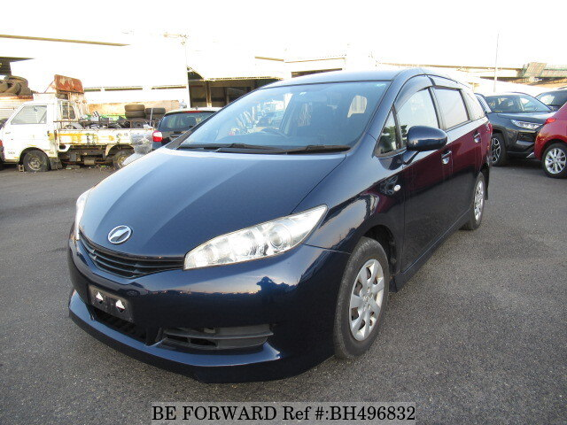 Used 2012 TOYOTA WISH BH496832 for Sale