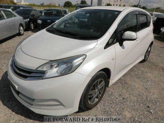 Used 2014 NISSAN NOTE BH497068 for Sale