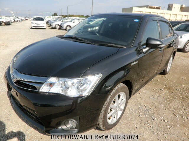Used 2014 TOYOTA COROLLA AXIO BH497074 for Sale