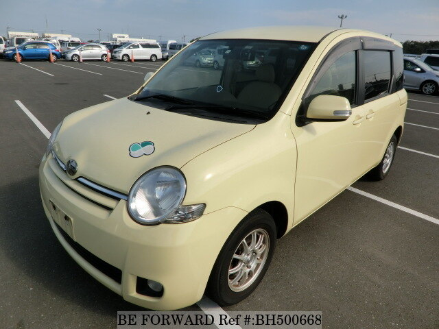 Used 2009 TOYOTA SIENTA BH500668 for Sale