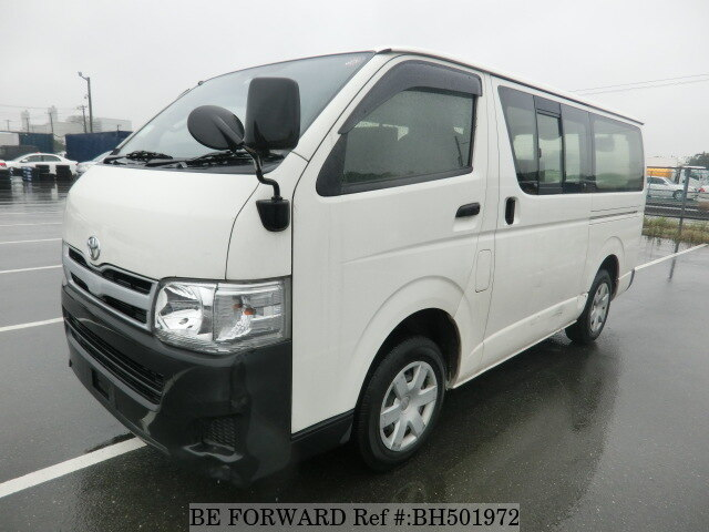 Used 2013 TOYOTA HIACE VAN BH501972 for Sale