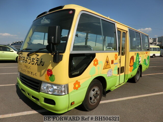 Used 2009 TOYOTA COASTER BH504321 for Sale