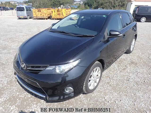 Used 2012 TOYOTA AURIS BH505251 for Sale