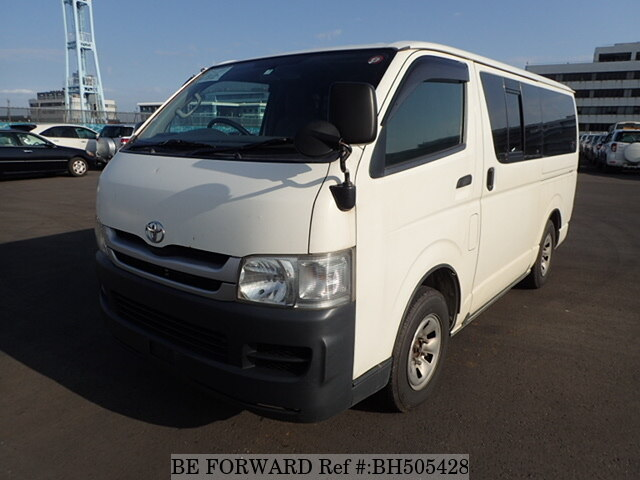 Used 2010 TOYOTA HIACE VAN BH505428 for Sale