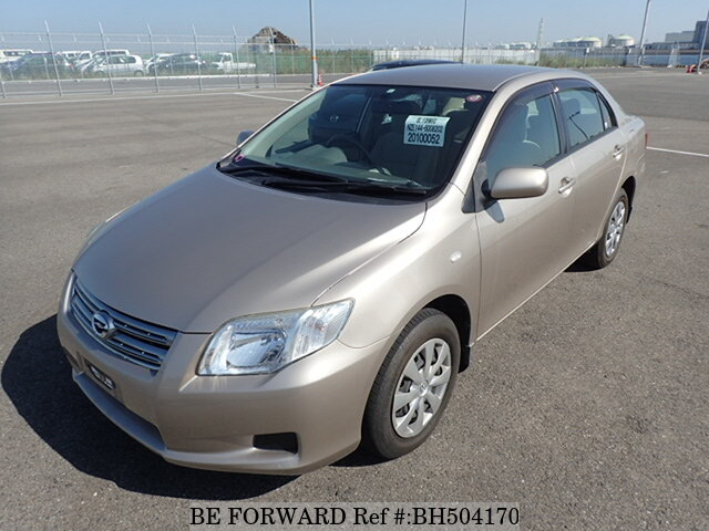 Used 2008 TOYOTA COROLLA AXIO BH504170 for Sale