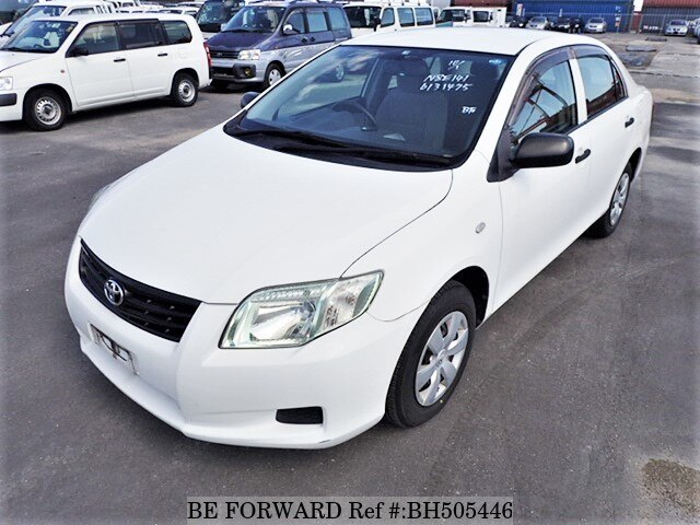 Used 2009 TOYOTA COROLLA AXIO BH505446 for Sale