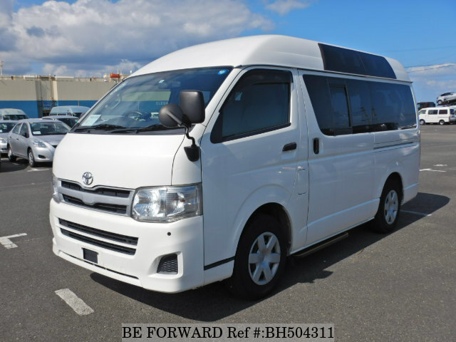 Used 2013 TOYOTA HIACE VAN BH504311 for Sale