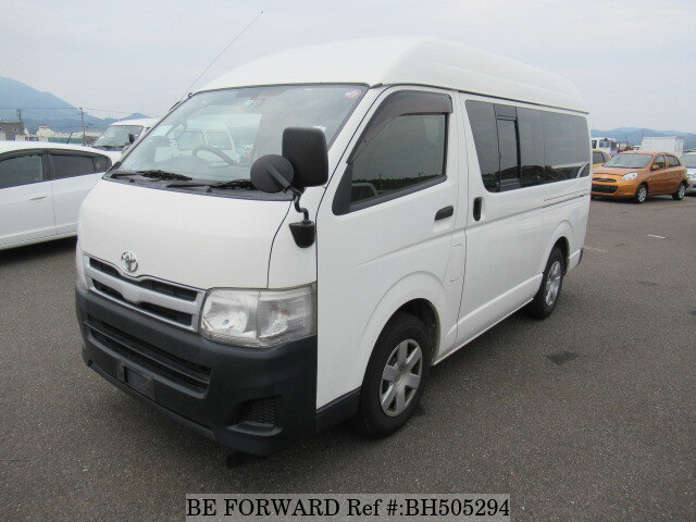 Used 2013 TOYOTA HIACE VAN BH505294 for Sale