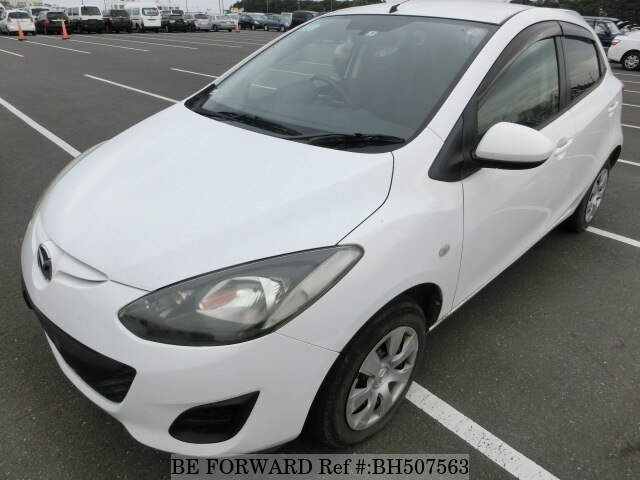 Used 2011 MAZDA DEMIO BH507563 for Sale