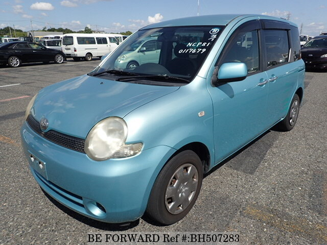 Used 2005 TOYOTA SIENTA BH507283 for Sale