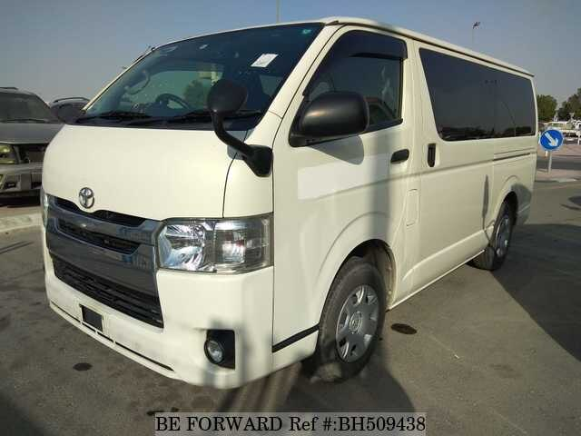 Used 2015 TOYOTA HIACE VAN BH509438 for Sale