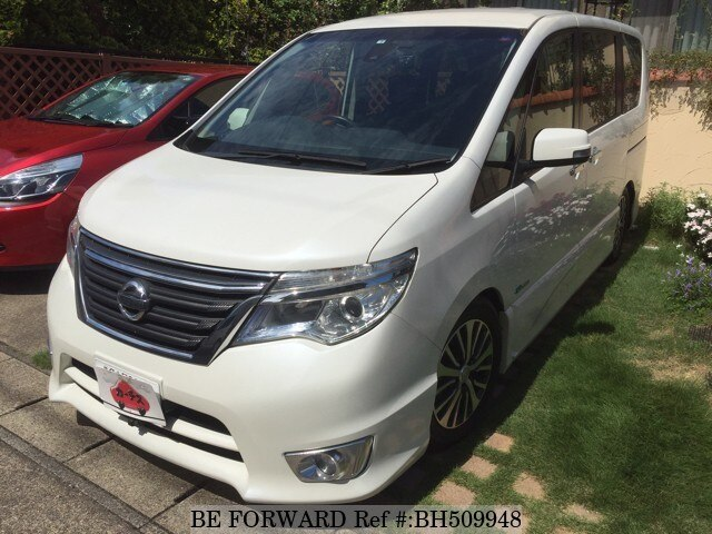 Used 2014 NISSAN SERENA BH509948 for Sale