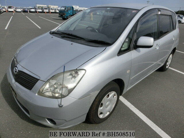 Used 2002 TOYOTA COROLLA SPACIO BH508510 for Sale