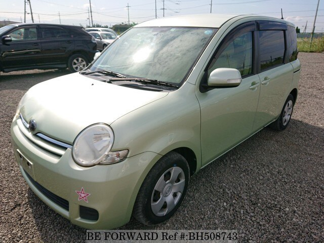 Used 2009 TOYOTA SIENTA BH508743 for Sale