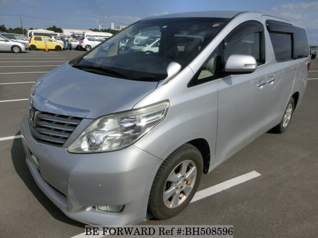 Used 2008 TOYOTA ALPHARD BH508596 for Sale