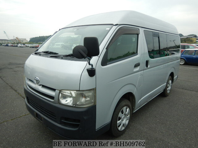 Used 2007 TOYOTA HIACE VAN BH509762 for Sale
