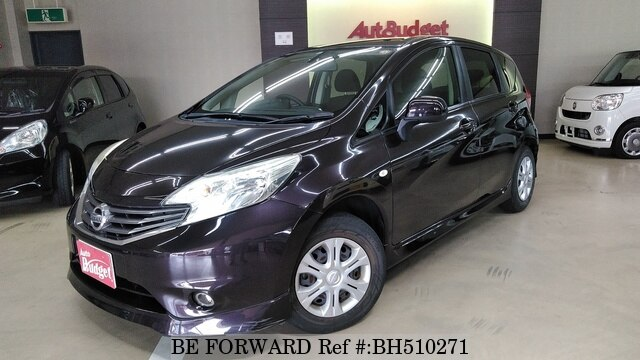 Used 2012 NISSAN NOTE BH510271 for Sale
