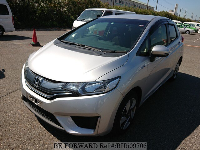 Used 2015 HONDA FIT HYBRID BH509706 for Sale