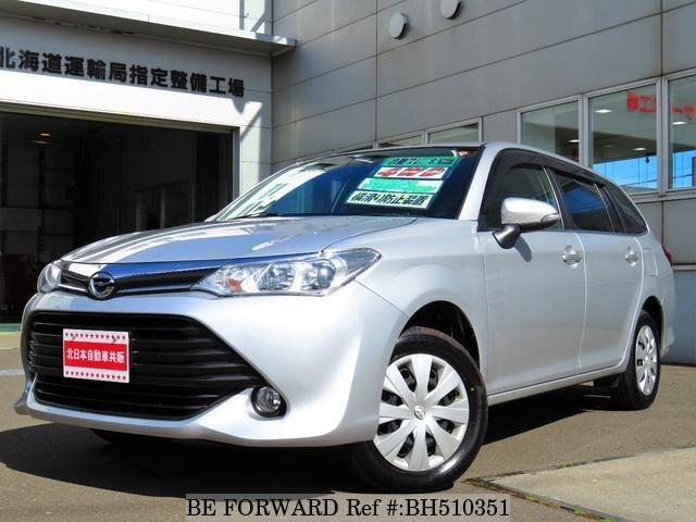 Used 2015 TOYOTA COROLLA FIELDER BH510351 for Sale