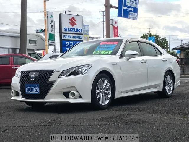 Used 2014 TOYOTA CROWN HYBRID BH510448 for Sale