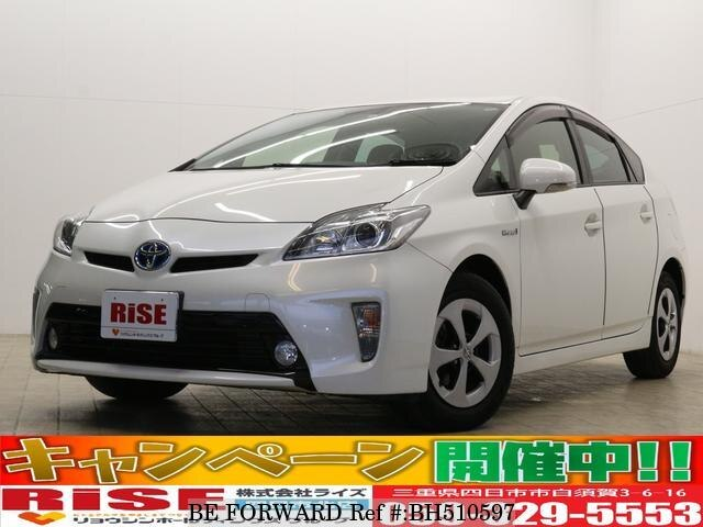 Used 2014 TOYOTA PRIUS BH510597 for Sale