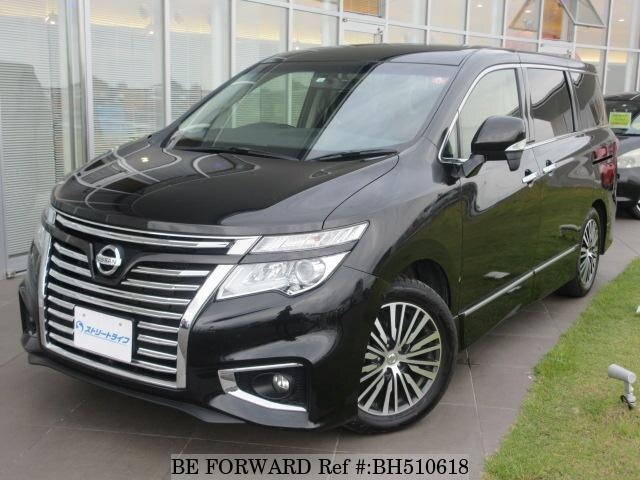 Used 2018 NISSAN ELGRAND BH510618 for Sale