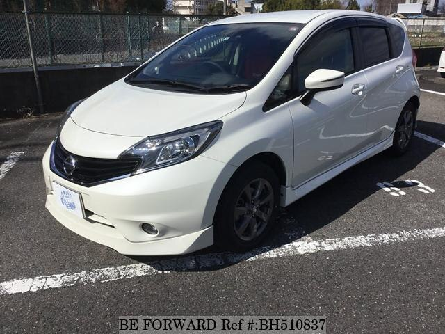 Used 2016 NISSAN NOTE BH510837 for Sale