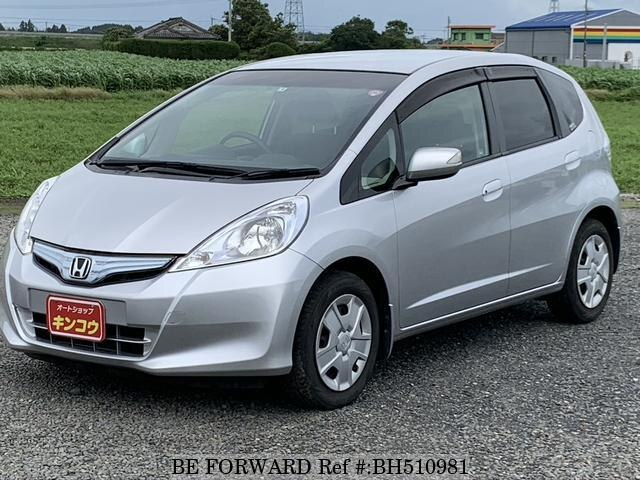 Used 2011 HONDA FIT HYBRID BH510981 for Sale