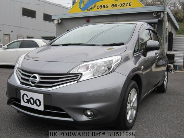 Used 2012 NISSAN NOTE BH511628 for Sale