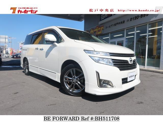 Used 2012 NISSAN ELGRAND BH511708 for Sale