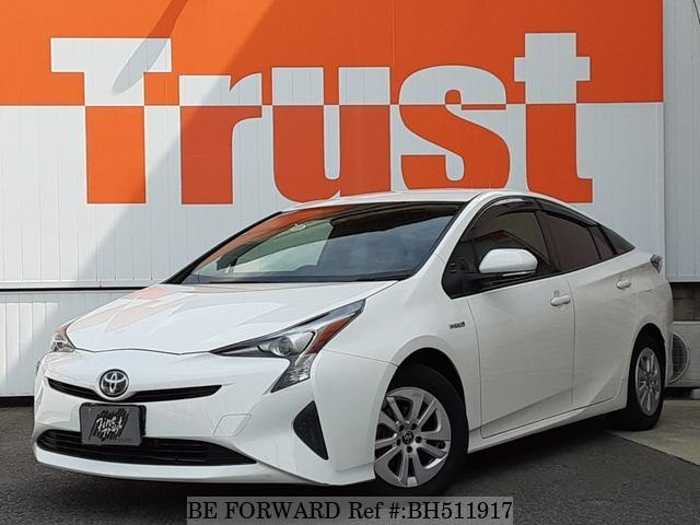 Used 2017 TOYOTA PRIUS BH511917 for Sale
