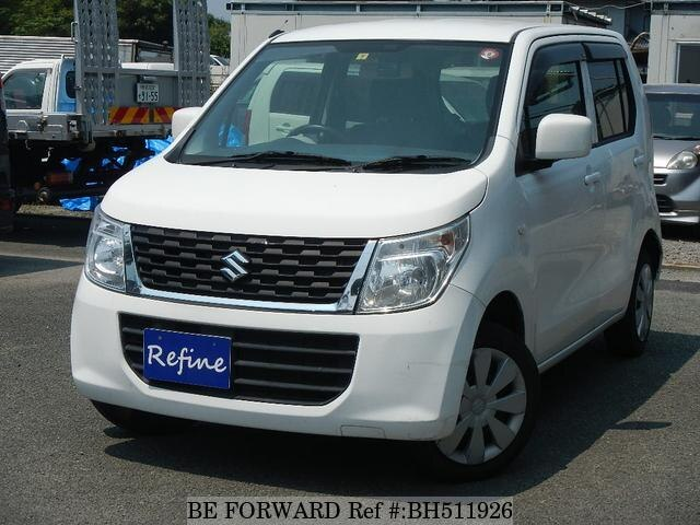 Used 2015 SUZUKI WAGON R BH511926 for Sale