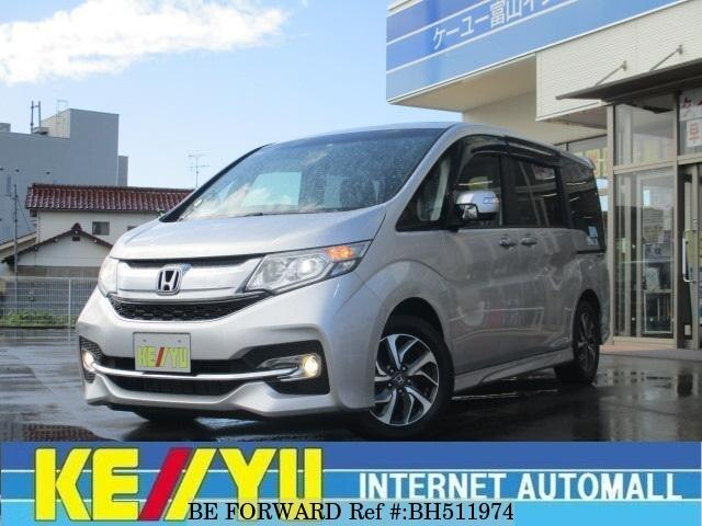 Used 2015 HONDA STEP WGN BH511974 for Sale