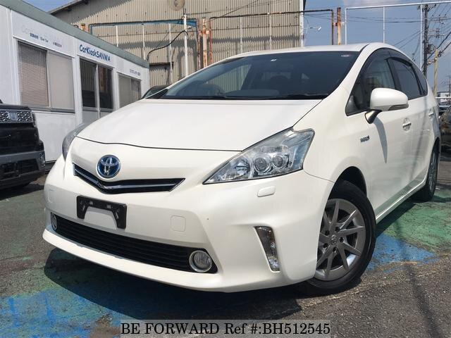 Used 2013 TOYOTA PRIUS ALPHA BH512545 for Sale