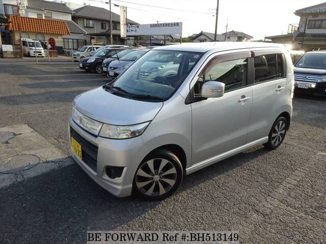 Used 2010 SUZUKI WAGON R BH513149 for Sale