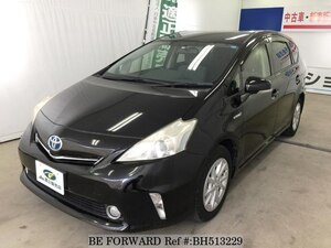 Used 2013 TOYOTA PRIUS ALPHA BH513229 for Sale