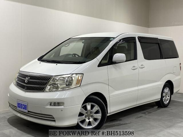Used 2004 TOYOTA ALPHARD BH513598 for Sale