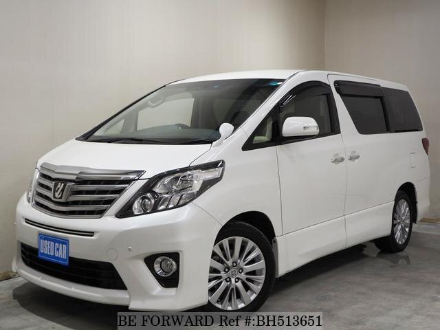 Used 2013 TOYOTA ALPHARD BH513651 for Sale