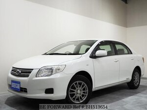 Used 2007 TOYOTA COROLLA AXIO BH513654 for Sale