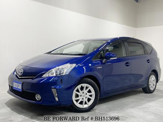 Used 2011 TOYOTA PRIUS ALPHA BH513696 for Sale