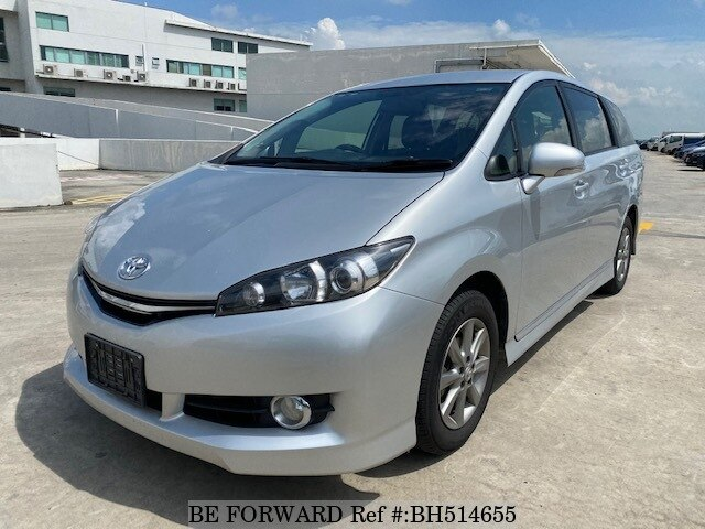 Used 2014 TOYOTA WISH BH514655 for Sale