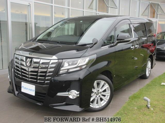 Used 2015 TOYOTA ALPHARD BH514976 for Sale